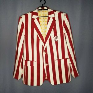 Mens Loudmouth Sport Coat 44R Indiana University